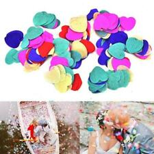 1200pcs Red Circles Confetti Biodegradable Kids Party Wedding Throwing Decor Fad