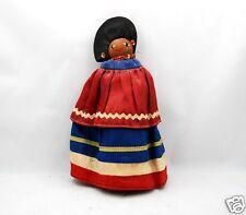 Antique Authentic Native American Seminole Doll Palmetto Fiber
