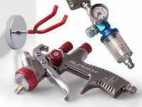 BURISCH LVLP Spray gun spraygun GTR500 1.3mm + regulator, filter, magnetic stand