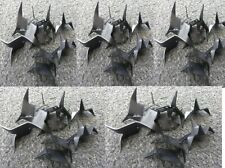 (100) Ninja Spikes Caltrops Black Stainless Steel Spikes Sharp Fall Time Special