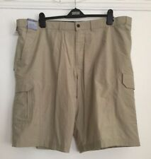 Marks and Spencer Cotton Blend Big & Tall Shorts for Men