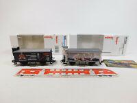 CL733-0,5# 2x Märklin H0/AC Güterwagen NEM KK KKK: 31979 + 4890.100, NEUW+OVP