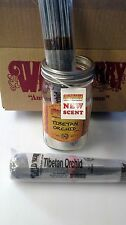 "25 Genuine Wild Berry 11"" Tibetan Orchid incense sticks in a plastic wrapper."