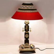 Hand-painted Wooden Home Decorative Night Lamp for Living Room Bedroom
