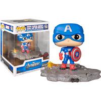 The Avengers - Captain America Avengers Assemble Diorama Deluxe #589 Pop! Vinyl