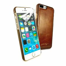 Alston Craig Leather Replacement Magnetic Shell for iPhone 7 Plus/8 Plus-Brown