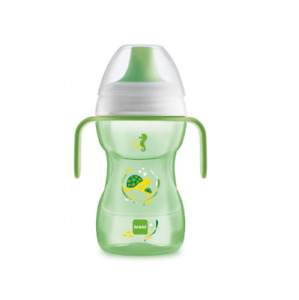 MAM Baby Boys Girls FUN TO DRINK Learner Cup Handles 270 ml 8 Months+