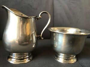Vintage Towle (Massachusetts) Sterling Silver Creamer And Creamer 150