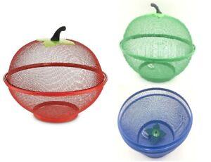 28cm Fruit Basket Kitchen Mesh Net Bowl Dinning Table Vegetable Fruit Net Basket