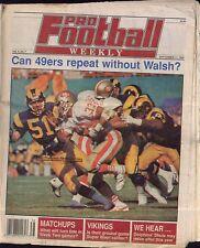 Pro Football Weekly September 17, 1989 Roger Craig San Francisco 49ers, LA Rams
