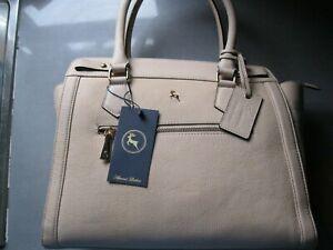 antler ashwood leather bag new