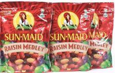 3 Sun Maid Raisin Medley Dried Fruits No Sugar Naturally Sweet Best By 9-8-21