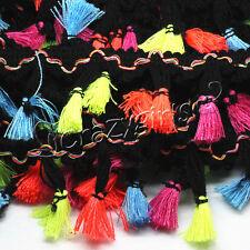 10Yard Tassel Silk Tassels Trim Cotton Trimming Lace Handmade Craft Sewing Decor