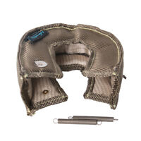 T3 GT30 Titanium U-Silica Turbo Blanket Heat Shield Turbocharger Cover Wrap US