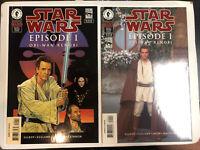 Star Wars Episode I Obi-Wan Kenobi 1999) # Photo+art (NM) 1st Darth Maul