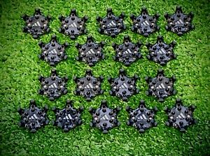 Golf Shoe Spikes/Cleats PINS System for Adidas, Footjoy, Puma Golf Shoes