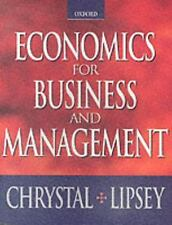 Economics for Business and Management by Richard G. Lipsey and K. Alec...