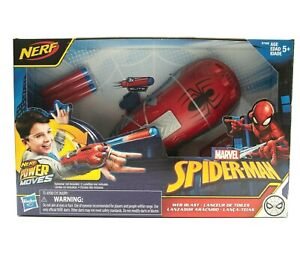 MARVEL SPIDER-MAN NERF POWER MOVES WEB BLAST NEW OTHER FAST / FREE SHIPPING