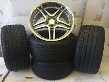 """19""""647 gmp alloy wheels audi/vw/passat/mercedes/vauxhall/saab 8.5/9.5 with tyres"""