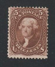 USA 1861 Scott # 76 brown vf MNG