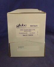 Globe Scientific 136030 Long Transfer Pipet Narrow Stem Box of 500 NEW