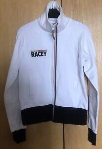 RARE B.A.R. Honda F1 Official Merchandise White Track Top / Jacket Medium BNWT