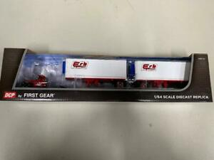 "DCP 60-0617 ""ERB"" Mack R-Model w/Double Pups 1:64 Die-cast Promotions First Gear"