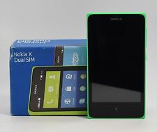 "USED - Nokia X A110 Green (FACTORY UNLOCKED) 4GB , 4.0"" , 3.15MP , Dual Sim"