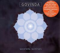 GOVINDA worlds within (CD, album, 2004) downtempo, ambient, very good condition