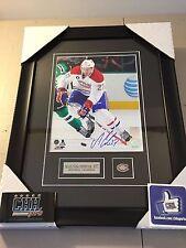 Alex Galchenyuk FRAMEWORTH Montreal Canadiens Signed Frame Cadre COA auto HABS