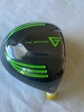 NEW Vertical Groove 12.0* rare loft driver HEAD ONLY