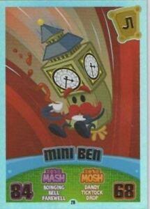 Moshi Monsters Series 3 Code Breakers No. 216 MINI BEN - Rainbow Foil Individual