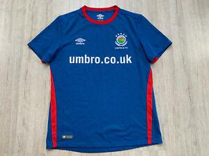 2017 2018 Home North Ireland Linfield FC Fußball Trikot  Football Shirt Umbro M