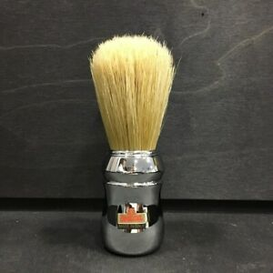 Omega 10048 Chrome Boar Bristle Shaving Brush- Made in Italy