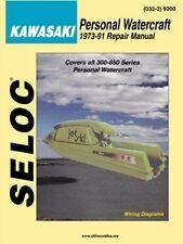 SELOC JET SKI PWC WORKSHOP REPAIR MANUAL Kawasaki Personal Watercraft 1973-91