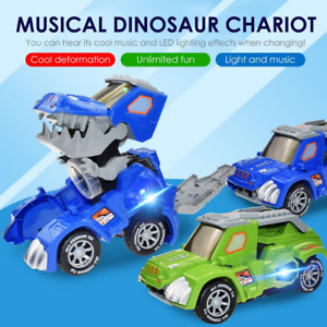 LED Dinosaur Transformation Car Toy - 🔥Hot Sale and Price Reduction🔥