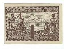 French West Africa - 1 Franc   1944