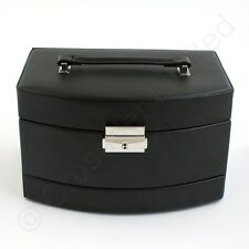 Mele and Co Bonded Leather Consort Jewellery Boxes Black