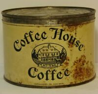 Vintage 1932 Coffee House Tin Can Tone Brothers Des Moines Iowa 1 One Pound Tin