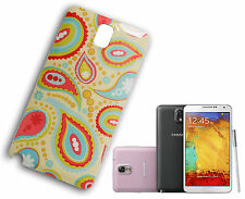 COVER CUSTODIA CASE COMPATIBILE SAMSUNG NOTE III 3 FLOREALE GIALLO ROSA VERDE Y