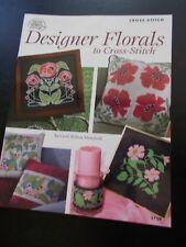 Designer Florals to Cross Stitch Leaflet American School of Needlework 3759