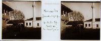 Grecia Macedonia Monastir Stereo 45x107mm Placca Da Lente Positive, Ca 1917