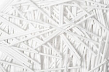 White Plastic Lollipop Cake Pop Sticks Lollies Lollys Crafts