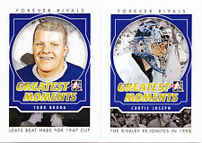 12-13 ITG Turk Broda Greatest Moments Forever Rivals Maple Leafs