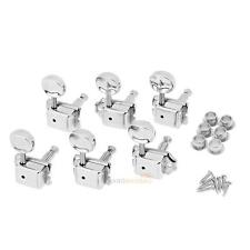 6R Inline Vintage Tuning Pegs Tuners Machine Heads For Fender Strat Guitar