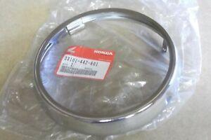 HONDA CB250N  CD200  CD250  CM125C  GENUINE NOS HEADLAMP RIM - # 33101-442-601
