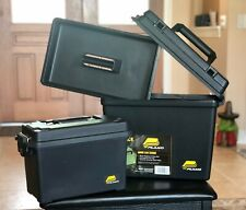 Plano PLA1336SA  Black Deep Field Tactical Ammo Can Combo -Storage Case - 2 PACK