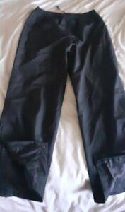 Nike Golf XL Waterproof Trousers Black Storm Fit Mens Water Proofs Pants