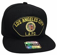 Los Angeles Police Department LAPD Hat Black Snapback