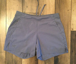 Women's ARC'TERYX running shorts ..size small ..color gray